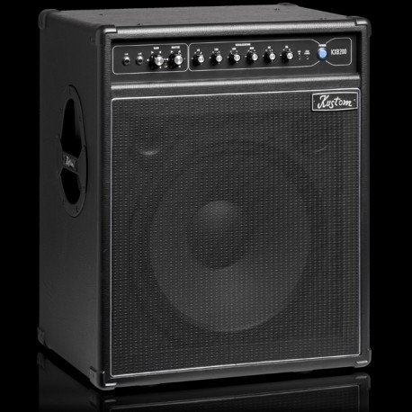 "KUSTOM 200W BASS AMP 15"" SPEAKER WITH 6 BAND ACTIVE EQ KXB200"