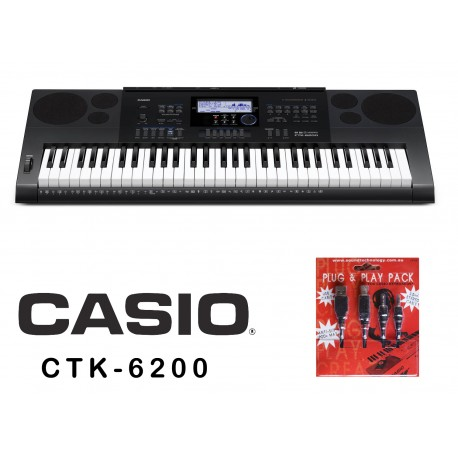 CASIO CTK6200 FULL SIZE PIANO STYLE HIGH GRADE PROFESSIONAL KEYBOARD