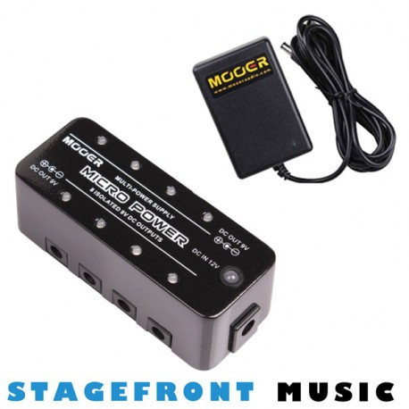 MOOER MEP-MP MICRO POWER GUITAR EFFECTS PEDAL 9V DC POWER SUPPLY