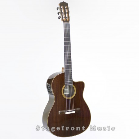 CORDOBA FUSION 14 CROSSOVER OR HYBRID STYLE NYLON STRING GUITAR