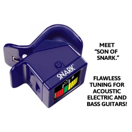 SNARK CHROMATIC CLIP-ON TUNER SN5X WITH DEAD ACCURATE TUNING