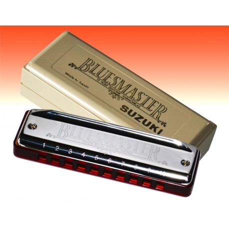 SUZUKI BLUESMASTER HARMONICA. CHOOSE KEY. MR-250