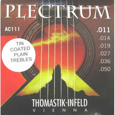 THOMASTIK PLECTRUM AC111 ACOUSTIC GUITAR STRINGS 11-50