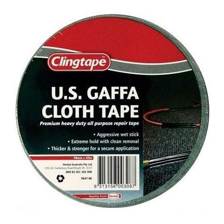 U.S. GAFFA - 40m x 48mm roll individually shrink wrapped - CLG40