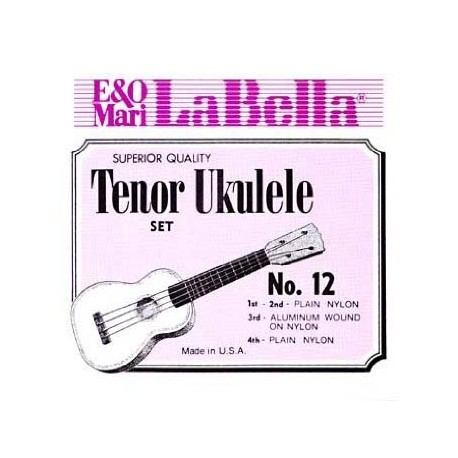 UKULELE STRINGS LA BELLA TENOR 12