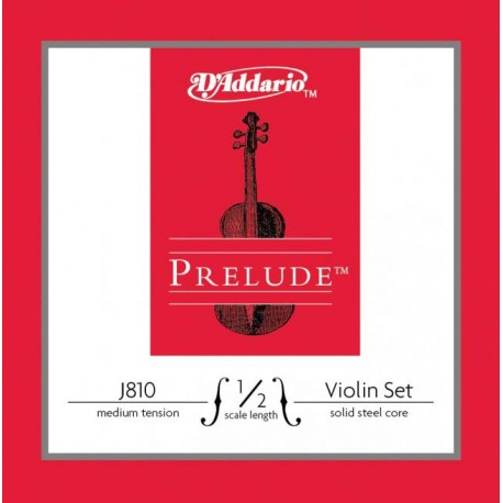 VIOLIN STRINGS D'ADDARIO J810 PRELUDE 1/2 SET