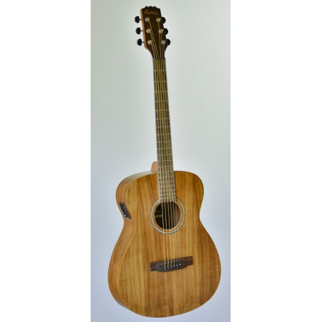 MARTINEZ MF-25KFP-NST ACOUSTIC GUITAR. WIRELESS FM RADIO CONNECTION