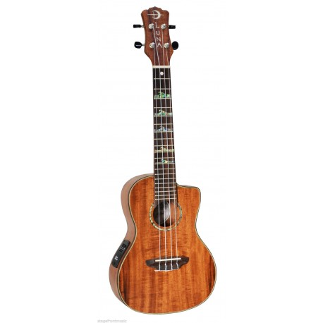 LUNA HIGHTIDE CONCERT SIZE ELECTRIC KOA UKULELE with GIG BAG -NEW