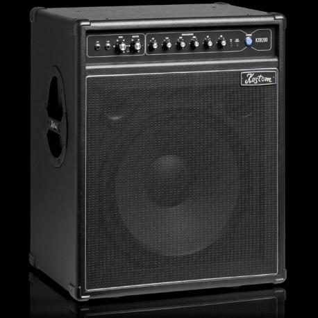 "KUSTOM 200W BASS AMP 15"" SPEAKER WITH 6 BAND ACTIVE EQ KXB200"
