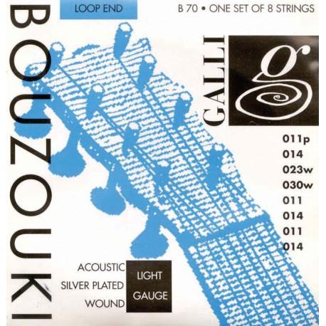 BOUZOUKI STRINGS- GALLI  B70