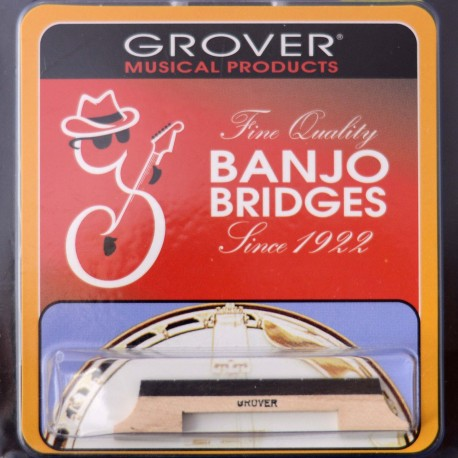 GROVER BANJO BRIDGE 1/2'' 5 STRING - BJ302