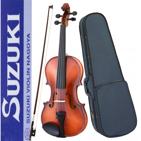 SUZUKI NAGOYA FS-10 3/4 SIZE SOLID TOP VIOLIN PACKAGE WITH FREE SETUP