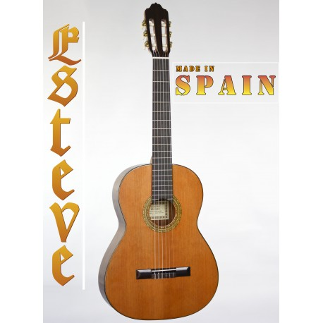 ESTEVE 4ST. SPANISH MADE CLASSICAL GUITAR SOLID CEDAR GLOSS TOP