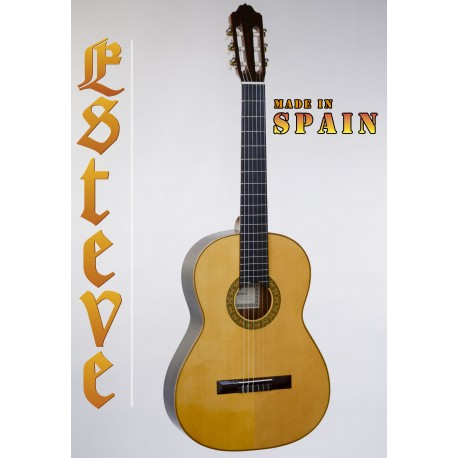ESTEVE 1GR01 Model 1 SPANISH MADE CLASSICAL GUITAR SOLID SPRUCE TOP
