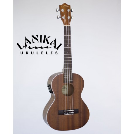 LANIKAI LU21TEK TENOR SIZE ELECTRIC/ ACOUSTIC UKULELE WITH FISHMAN KULA PICKUP