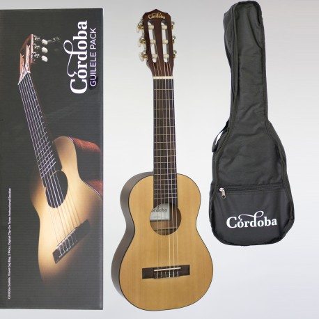 CORDOBA TRAVELLER GUILELE CROSSOVER BETWEEN GUITAR & TENOR UKULELE