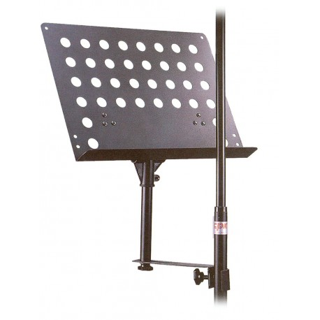 CPK MUSIC STAND FOR ATTACHING TO MICROPHONE STANDS & OTHER HARDWARE - MSD15
