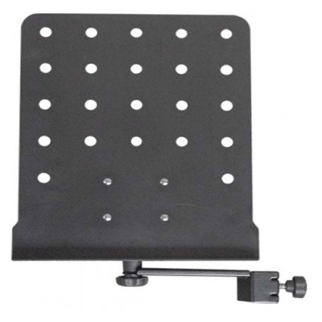 PLATINUM MUSIC STAND FOR ATTACHING TO MICROPHONE STANDS & OTHER HARDWARE - MSD17