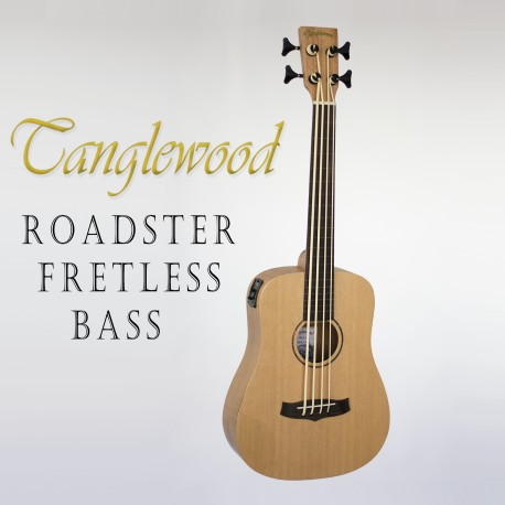 TANGLEWOOD TWRBE ROADSTER ACOUSTIC/ELECTRIC TRAVELLER BASS GUITAR
