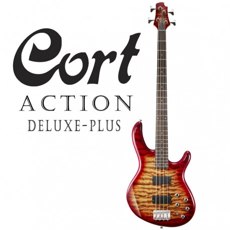 CORT 850-CRS ACTION DELUXE PLUS. 4-STRING ELECTRIC BASS GUITAR