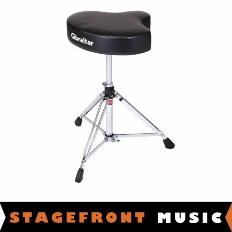 GIBRALTAR GI6608. 6600 SERIES MOTO STYLE DELUXE DRUM THRONE / SADDLE STYLE STOOL