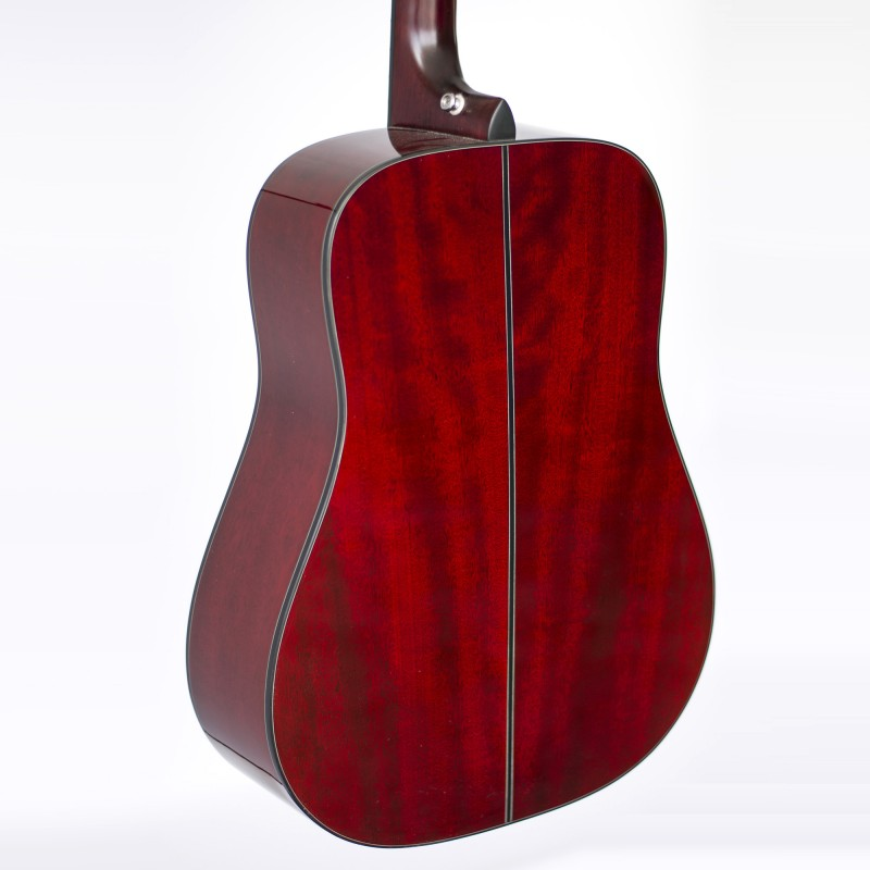 TAKAMINE D2DWR WINE RED GLOSS NEW MODEL D SERIES ACOUSTIC GUITAR