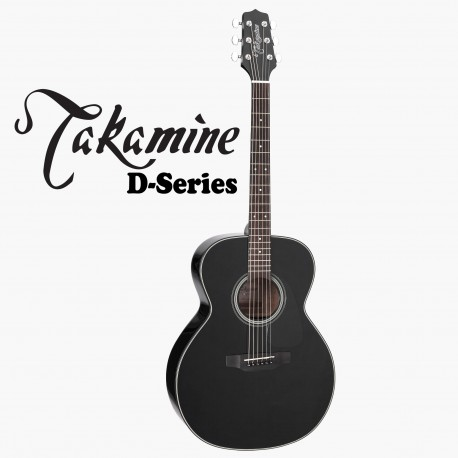 "TAKAMINE D2DNBLK ""new model"" ACOUSTIC D SERIES GUITAR - NEW"