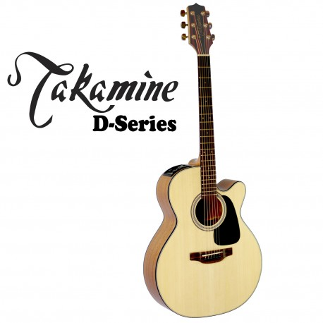 TAKAMINE ED1NCNS. D SERIES ACOUSTIC/ELECTRIC SPRUCE TOP GUITAR