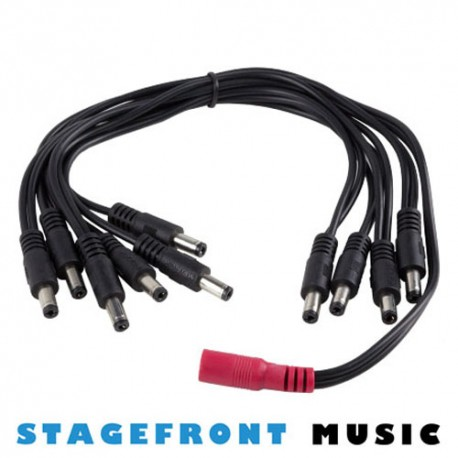 MOOER 10 PLUG MULTI DC POWER BREAKOUT CABLE. PDC-105