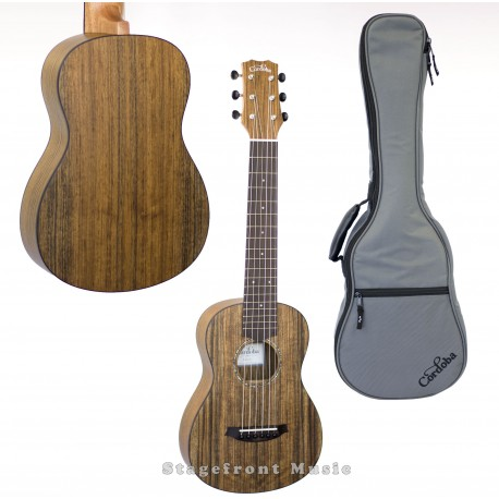 CORDOBA MINI-O OVANGKOL SOLID TOP ACOUSTIC NYLON STRING TRAVELLER GUITAR