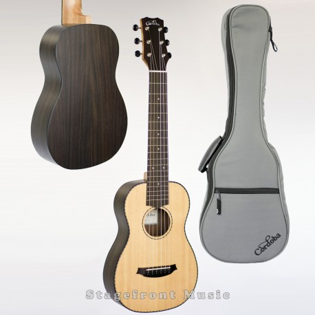 CORDOBA MINI ROSEWOOD BODY ACOUSTIC NYLON STRING GUITAR ULTIMATE TRAVEL INSTRUMENT