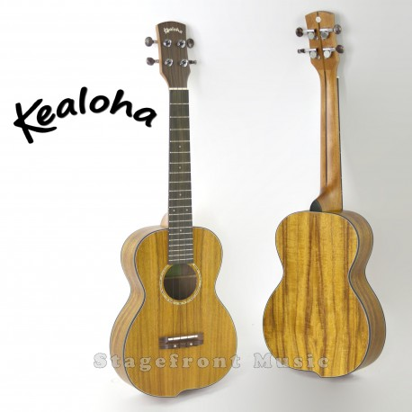 KEALOHA JUK100TK TENOR UKULELE. OFFSET CURVED BODY SHAPE