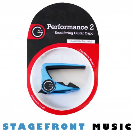 G7th PERFORMANCE 2 CAPO FOR STEEL STRING ACOUSTIC GUITARS