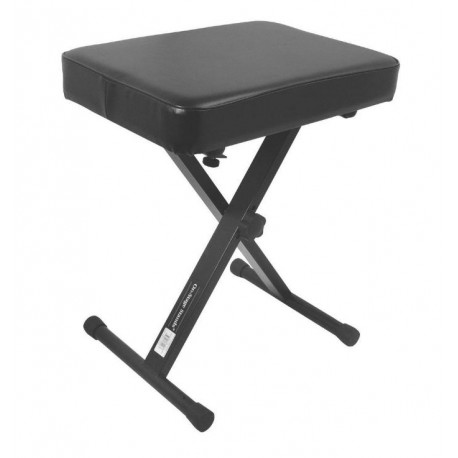 ONSTAGE KT7800 KEYBOARD PIANO ADJUSTABLE BENCH STOOL X-STYLE