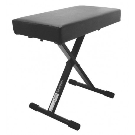 ONSTAGE KT7800PLUS KEYBOARD PIANO ADJUSTABLE DELUXE BENCH STOOL X STYLE