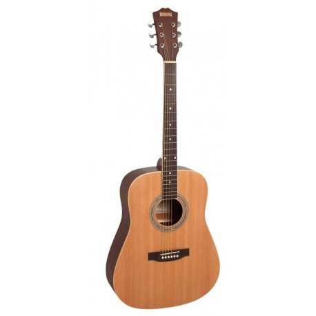 REDDING RED60NS DREADNOUGHT ACOUSTIC GUITAR SPRUCE TOP FREE ONLINE LESSONS