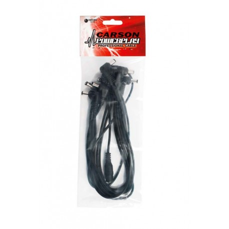 CARSON DC8 POWERPLAY LOW NOISE DC POWER CABLE FOR UP TO 8 EFFECTS PEDALS