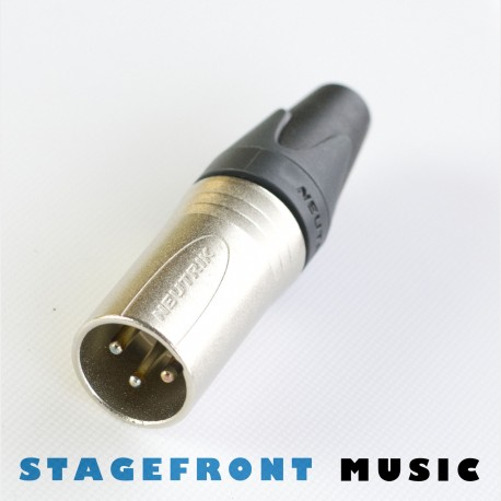 CONNECTOR NEUTRIK XLR (M) 3 PIN