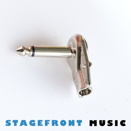 CONNECTOR FLAT BACK JACK PLUG 6.3mm
