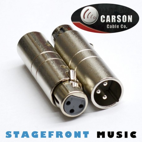 CARSON ADAPTOR XLR (M) TO USA/UK WIRING CONVERTER