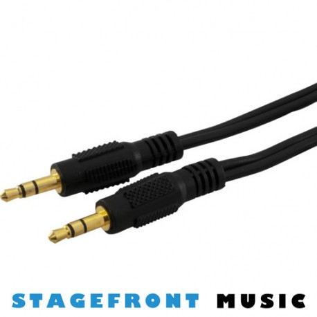 CABLE 3.5mm STEREO (M) - 3.5mm STEREO (M)