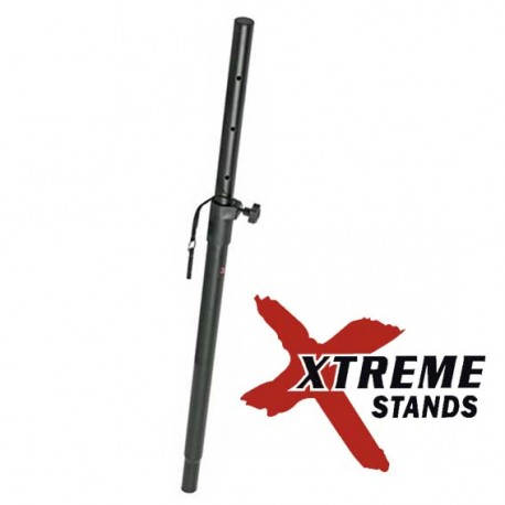 XTREME SSB50 SATELLITE SPEAKER MOUNTING TUBE/POLE WITH HEIGHT ADJUSTMENT