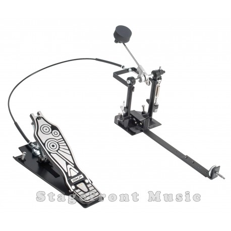 DXP CAJON DRUM KICK PEDAL PRO SERIES DIECAST FRAME BLACK METAL BASE DXPCP30