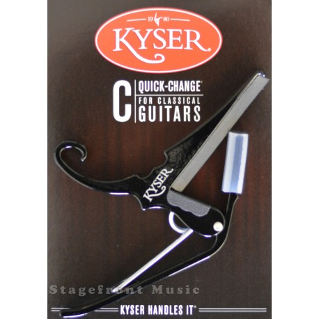 KYSER QUICK CHANGE CAPO. Classical Guitar