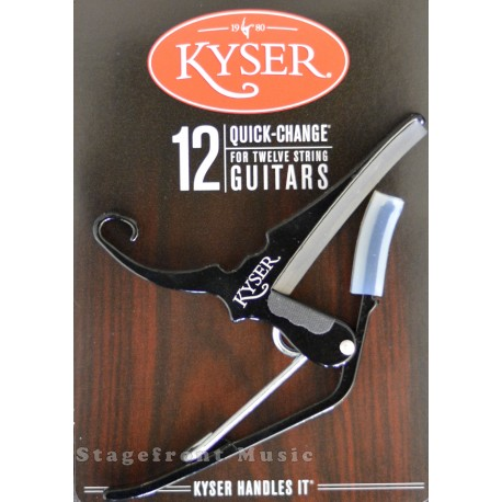 KYSER QUICK CHANGE CAPO - 12 STRING ACOUSTIC GUITAR