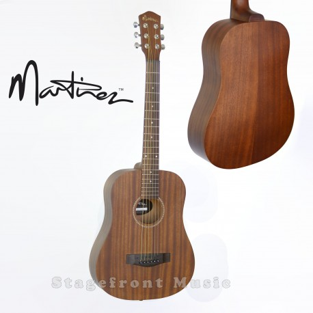 MARTINEZ BABE TRAVELLER ACOUSTIC/ELECTRIC STEEL STRING GUITAR MZP-BT1M-NST