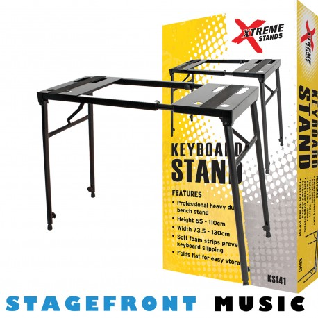 KEYBOARD ADJUSTABLE BENCH STAND KS141