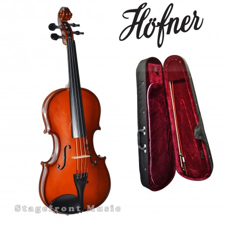 HOFNER 1/16 SIZE STUDENT HV040 VIOLIN w/accessories