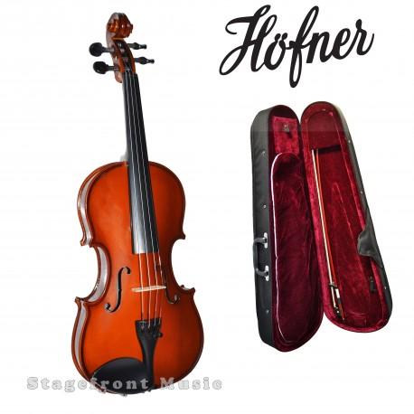 HOFNER 1/4 SIZE STUDENT HV040 VIOLIN w/accessories