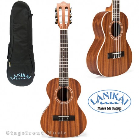 LANIKAI  LMA6T MAHOGANY SERIES 6-STRING UKULELE IN NATURAL SATIN FINISH
